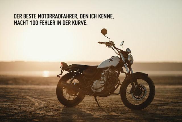 Motorrad Wüste